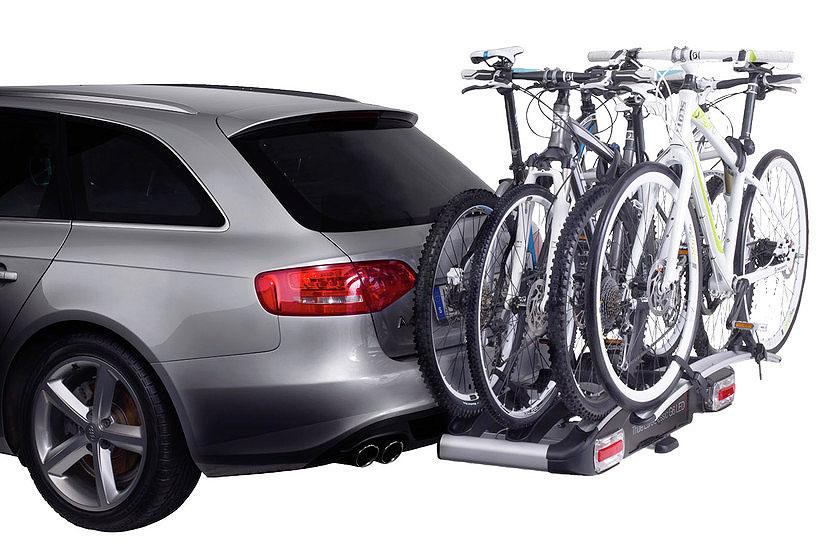 Одновременная перевозка 4 велосипедов