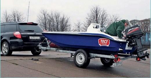 особенности выбора прицепа для моторных лодок