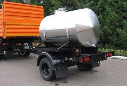 Прицеп-цистерна для перевозки и хранения жидкостей