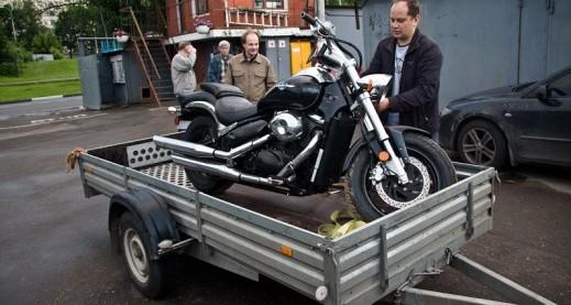 выбираем легковой прицеп для перевозки мотоцикла до 50 т. р.