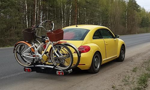 Так выглядит платформа для велосипедов