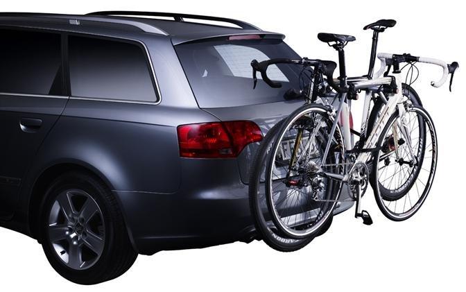 Подвесной вариант крепления велосипеда