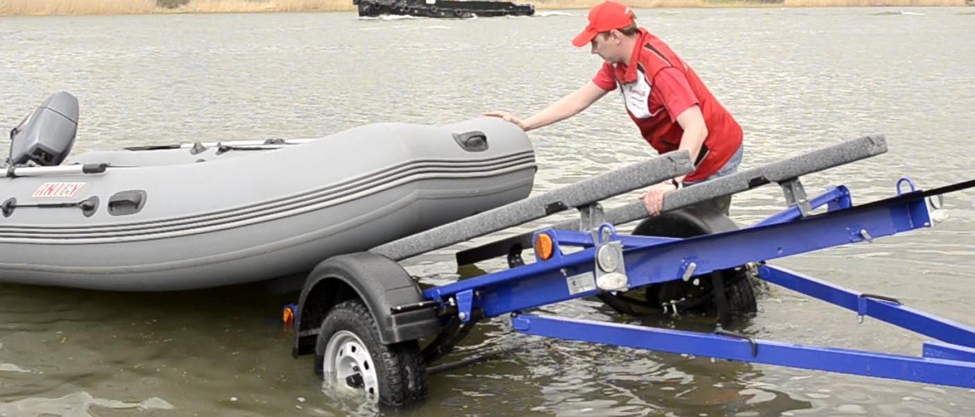 прицеп для перевозки лодок пвх