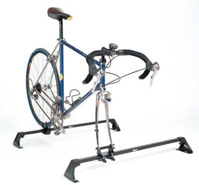 Фиксация велосипеда за вилку