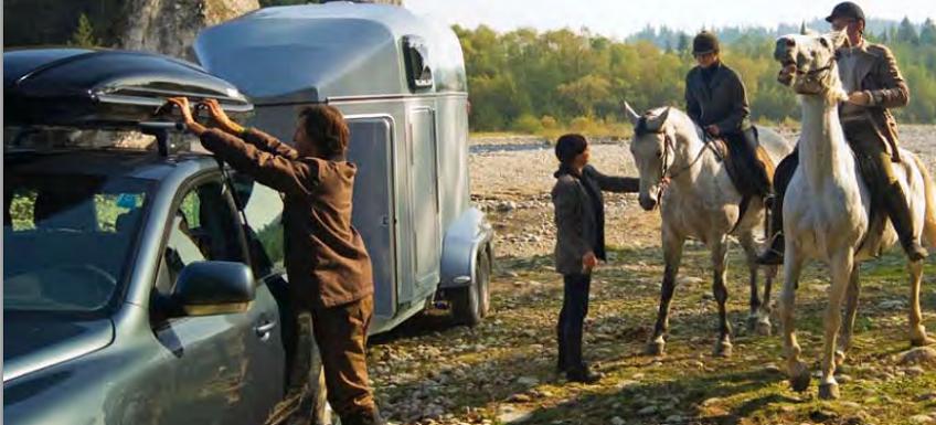 Прицеп для перевозки лошадей